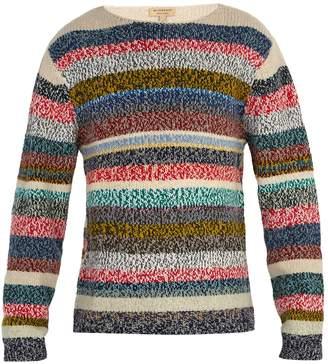 Burberry Striped merino wool sweater