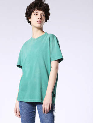 Diesel T-Shirts 0BARK - Green - L