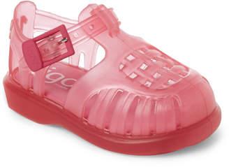 Igor Toddler/Kids Girls) Fuchsia Tobby Jelly Sandals