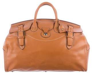 Ralph Lauren 2017 Saddle Calfskin Cooper Bag