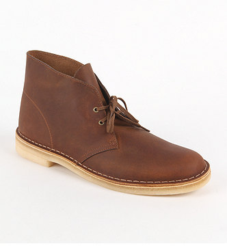 Clarks Desert Leather Boots