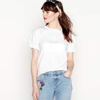 Red Herring White Puff Sleeve T-Shirt