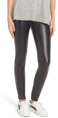 Lysse Bryce High Waist Faux Leather Leggings