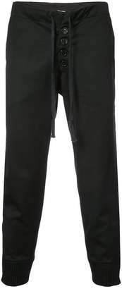 Greg Lauren tux slim lounge pants
