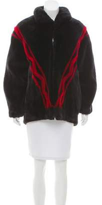 Birger Christensen Sheared Mink Fur Coat