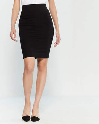 Shinestar Bodycon Ponte Skirt
