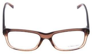 Tom Ford Logo Square Eyeglasses