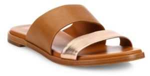 Cole Haan  Cole Haan Anica Leather Slides