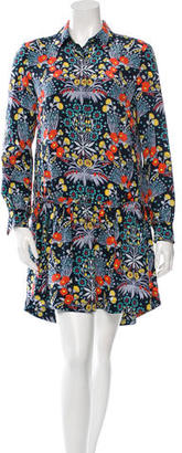 Marc by Marc Jacobs Silk Floral Shirtdress $65 thestylecure.com