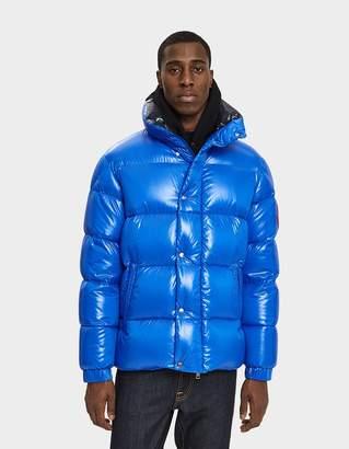 Moncler Genius Dervaux Down Jacket in Bright Blue
