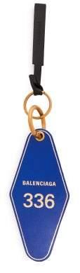 Balenciaga Hotel Diamond Key Ring - Womens - Blue