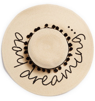 August Hat Day Dreaming Floppy Hat $54 thestylecure.com