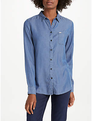 Lee One Pocket Denim Shirt, Beyond Blue