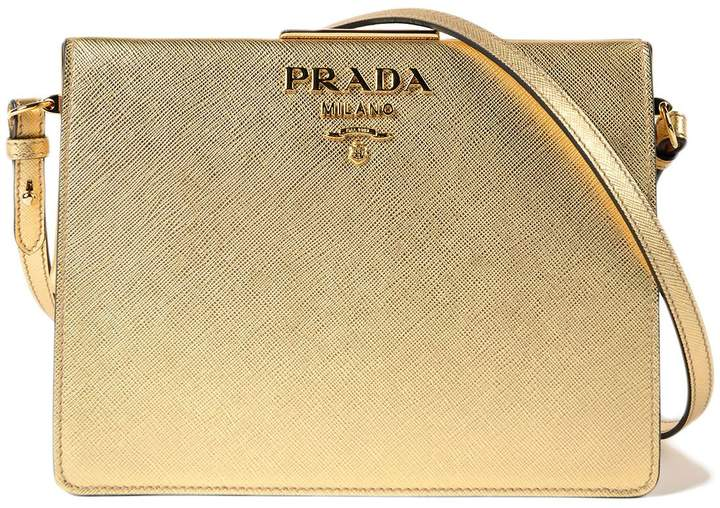 Prada Saffiano+city Calf Bag