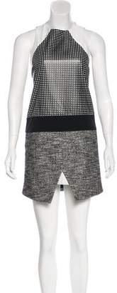 Tibi Embellished Mini Dress