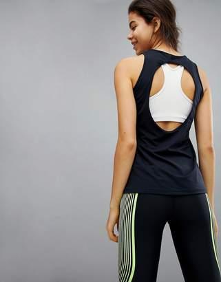 Nike Training Dry Oval Tank In Black