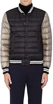 Moncler MONCLER MEN'S COLORBLOCKED DOWN-QUILTED VARSITY JACKET $955 thestylecure.com