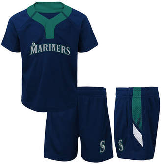 Outerstuff Seattle Mariners Ground Rules Short Set, Infants (12-24 Months)
