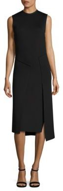 DKNY Sleeveless Crewneck Dress $398 thestylecure.com