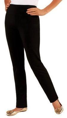 Women With Control Women with Control Regular Slim Leg Pants w/Tummy Control