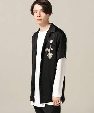 Miharayasuhiro JOINT WORKS FIT Flower Embro Shirt