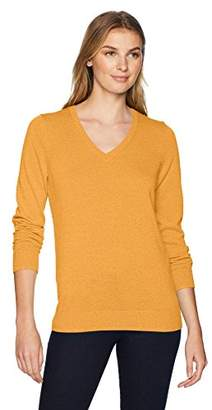 Amazon Essentials Women's Standard V-Neck Sweater