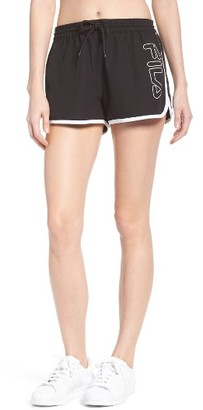 Women's Fila Conchetta Logo Shorts $45 thestylecure.com