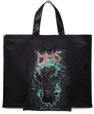 MM6 MAISON MARGIELA Monster canvas tote