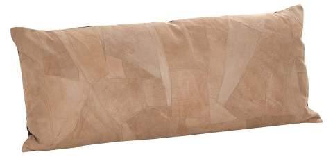 Saro Lifestyle Classic Leather Pillow
