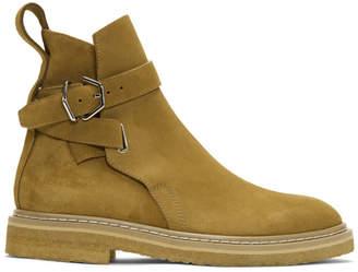 Acne Studios Yellow Suede Julian Boots