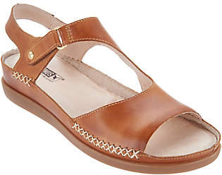 PIKOLINOS Leather Ankle Strap Sandals -Cadaques