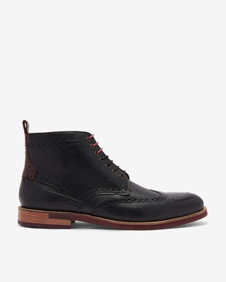HJENNO Brogue ankle boots