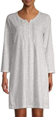 Carole Hochman Paisley Print Sleep Shirt