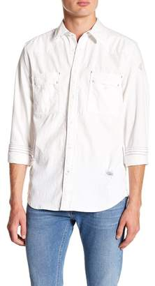 Gilded Age Distressed Chambray Modern Fit Shirt