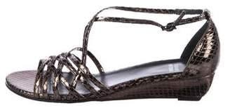 Stuart Weitzman AwayWeGo Metallic Sandals