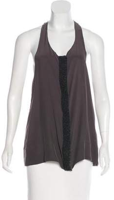 Rag & Bone Sleeveless Embellished Top