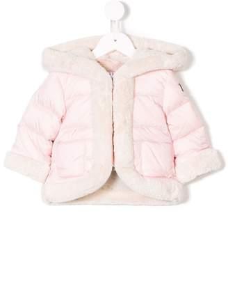 Il Gufo faux fur down jacket