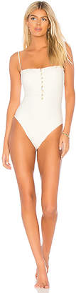 Vix Paula Hermanny Scales Button One Piece