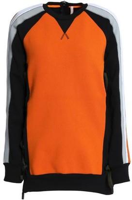 NO KA 'OI Color-block Cotton-blend Sweatshirt