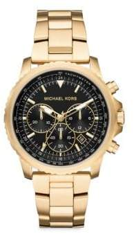 Michael Kors Theroux Chronograph Stainless Steel Bracelet Watch