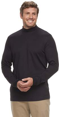 Croft & Barrow Big & Tall Classic-Fit Easy-Care Mockneck Pullover