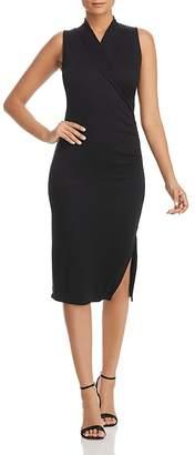 T Tahari Welma Ruched Knit Dress