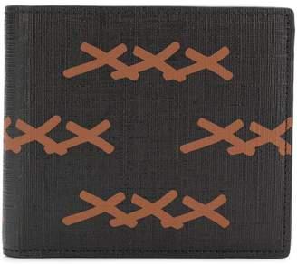 Ermenegildo Zegna XXX printed bifold wallet