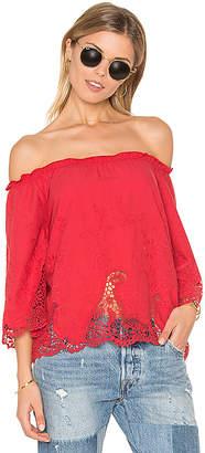 Ella Moss Jaedynn Top in Red $168 thestylecure.com
