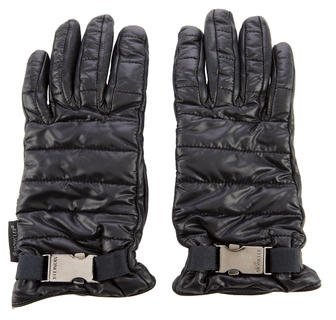 Moncler Moncler Quilted Leather Gloves