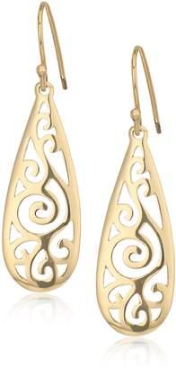 DAY Birger et Mikkelsen Amazon Collection Over Sterling Silver Filigree Tear Drop Earrings