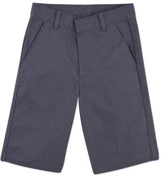 George Boys School Uniforms Slim-Fit Flat Front Shorts