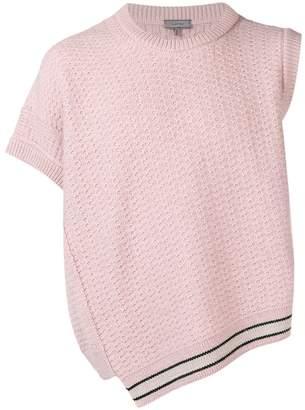 Lanvin asymmetric knit jumper