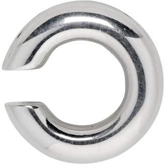 Saskia Diez Silver Bold Ear Cuff