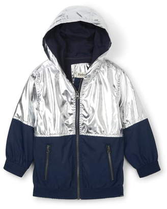 Hatley Metallic Moonbeam Water Resistant Hooded Jacket